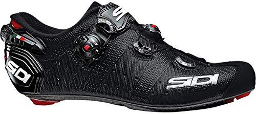 SIDI Zapatillas Wire 2 Matt Carbon, Hombre, Escape de Ciclismo, Negro Mate, 45 EU*