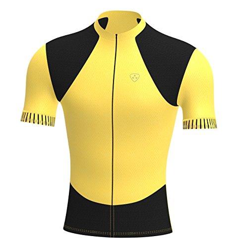 Deportes Hera Ropa Ciclismo, Maillot Mangas Cortas, Camiseta Verano de Ciclistas, Slim Fit...*