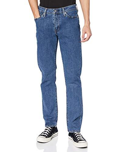 Levi's 514 Straight Jeans Vaqueros, Stonewash Stretch T2, 30W / 34L para Hombre