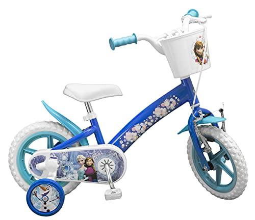 TOIMS - Bicicleta Infantil, diseño de Frozen,12'
