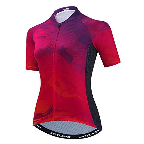 weimostar Camisetas de ciclismo para mujer de secado rápido Bike Tops Senderismo Running Ciclismo...*