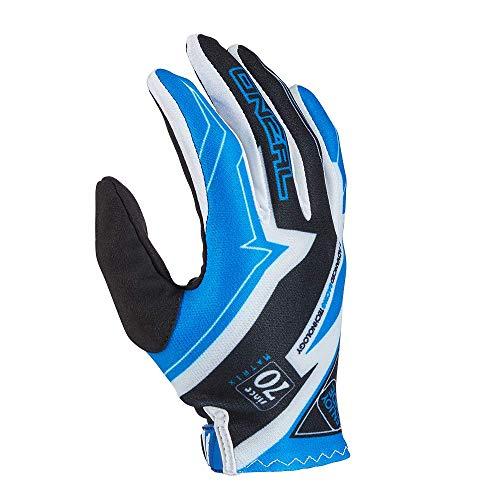 O'NEAL | Guantes de Bicicleta de montaña | MX MTB Motocross Enduro | Diseño Ligero y Simple para una óptima sensación en el Manillar | Guantes de bóveda | Adultos | Negro Azul | Talla L