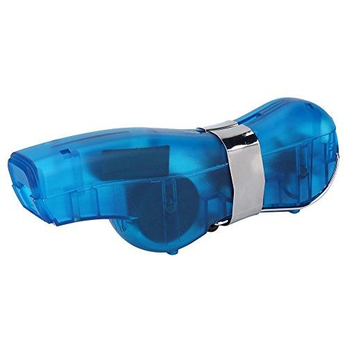 Limpiador de cadenas de bicicletas, Ciclismo Limpieza Herramienta de limpieza de cepillo Fácil Cadenas de limpieza rápida Depurador Herramienta de limpieza de mantenimiento(Azul)