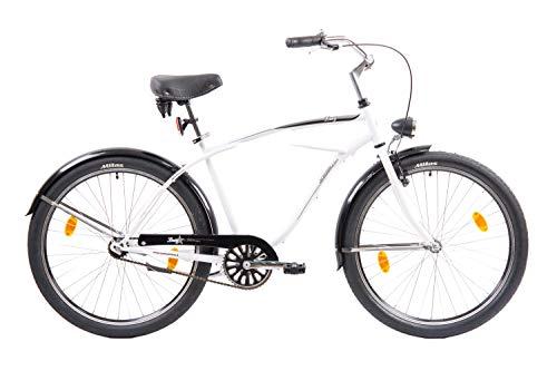 F.lli Schiano Lazy Bicicleta de Ciudad, Hombre, Blanco, 26''*