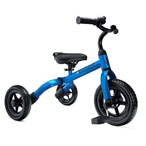 YGJT Triciclo Bebe Bicicleta para Niño 2-4 Años hasta 25Kg, 3 en 1 Triciclos Bebes con Pedales,...*