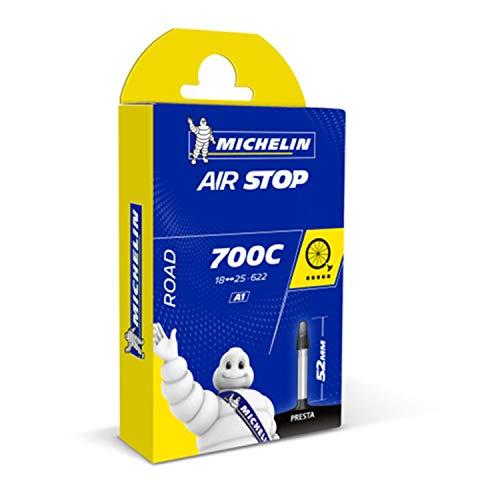 Michelin 700X18-25 52MM - Cámara de ciclismo 28', 18/25C - 622, 52mm