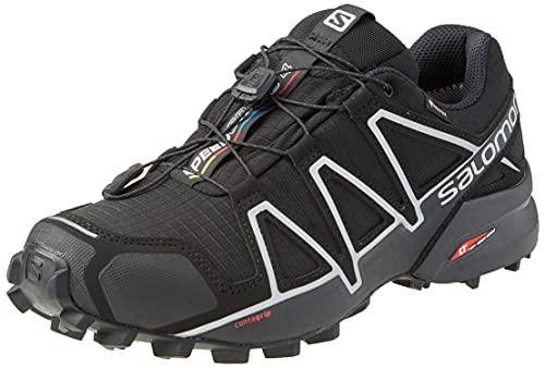 Salomon Speedcross 4 GTX Zapatillas Impermeables de Trail Running Hombre, Negro (Black/Black/Silver...*