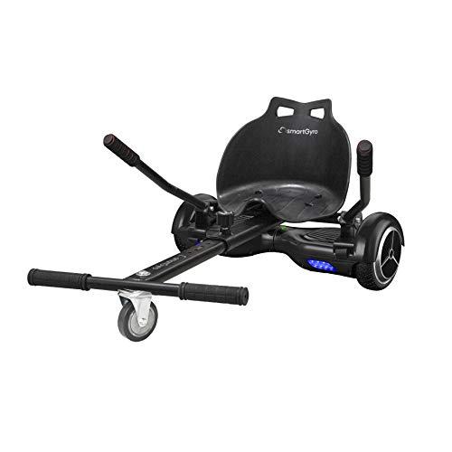 SMARTGYRO Go Kart Pro Black - Asiento Kart para patín eléctrico, Convierte tu Hoverboard en un...*