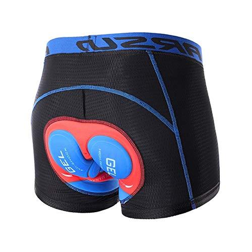 Ropa interior que completa un ciclo de actualización 3D Gel Pad Pantalones cortos de ciclista...*