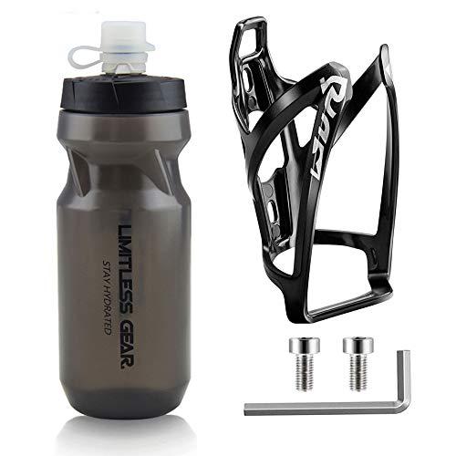 OSIGEI PortabidóN De Bicicleta Con Botella De Bicicleta De 21 Oz, Soporte Para Bebidas Ligero...*