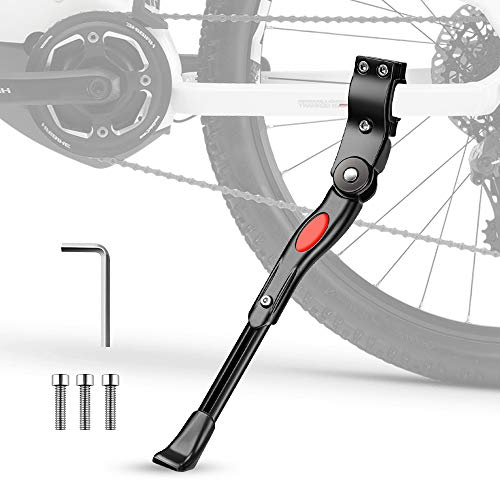 Pata de Cabra para Bicicleta, phixilin Aluminio Soporte Ajustable Bicicleta Kickstands Bicicleta...*