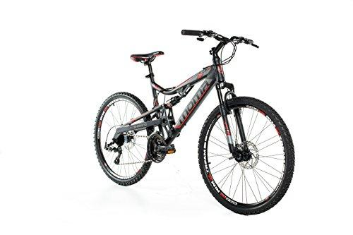 Moma bikes, Bicicletta Montana Mountainbike 26' BTT SHIMANO, alluminio, doppio disco e doppia sospensione