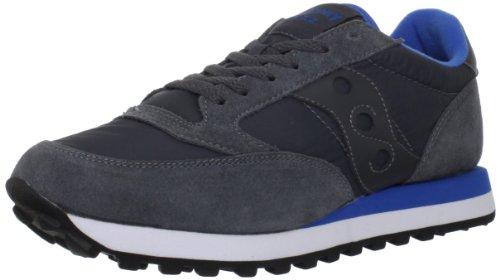 Saucony Sneakers Jazz Originals Dark Grey and Blue, Hombre, Talla 7,5.*