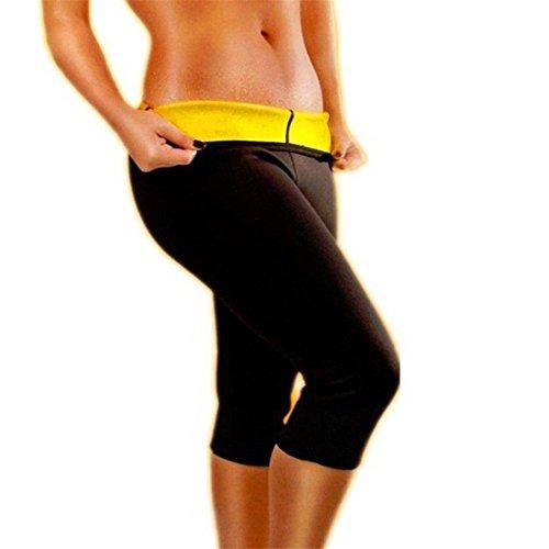 YisiNP Pantalones de Neopreno, se Ajustan al Cuerpo, Pantalones de Fitness