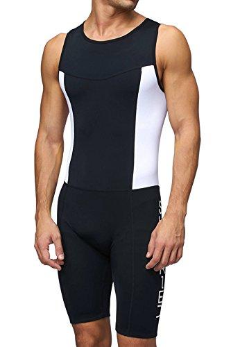SUNDRIED Bañador para Hombres Premium con Acolchado para Triatlón Mono Compresivo Duatlón Running...*