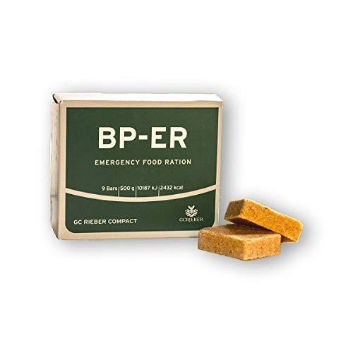 Compact Rieber BP ER Elite Emergency Food Unidad de 500 Gramos Alimentos a Largo Plazo para Exteriores, campamentos, Supervivencia y en situaciones de Crisis (LOT 2020)