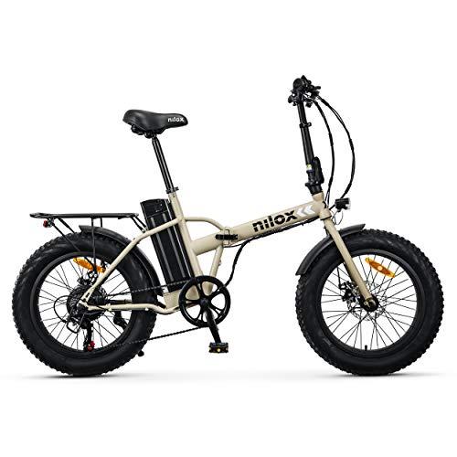 Nilox 30NXEB20V002V2 - Bicicleta eléctrica E Bike 36V 10AH 20X4P - X8, Motor 36 V 250 W, batería...*