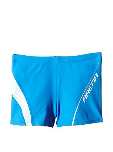 ARENA - Bañador de natación - para niño Azul Fast Blue/White Talla:8-9 Anni (128/134 cm)*