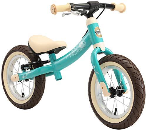 BIKESTAR Bicicleta sin Pedales para niños y niñas | Bici 12 Pulgadas a Partir de 3-4 años con Freno | 12' Edición Sport Turquesa