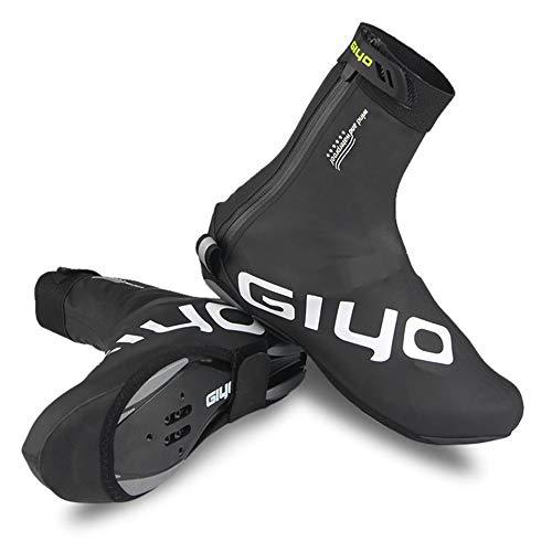 Lixada Cubierta de Zapatos de Bloqueo de Ciclismo en Invierno Cubrebotas MTB Impermeable A Prueba de Viento Calzado de de Vellón Cálido