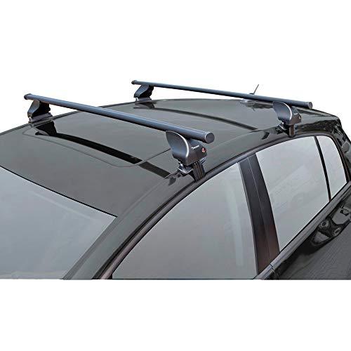 Twinny Load K02842055 Juego Techo de Acero S55 Compatible con Citroën Picasso 2013-& C4 Grand Spacetourer 2018-(para Coches sin Barras longitudinales)