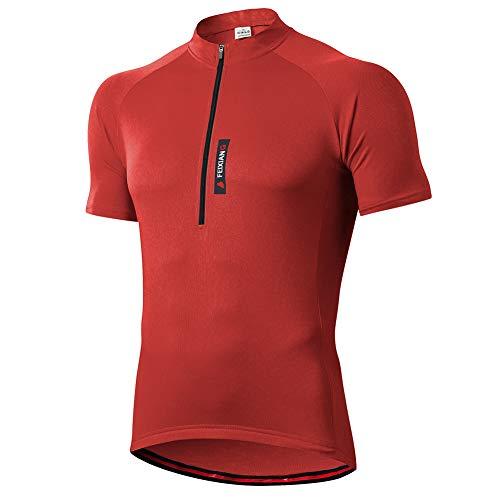 feiXIANG Maillot Ciclismo Hombre,Camiseta Manga Corta Bicicleta Verano de Ciclistas Cycling*