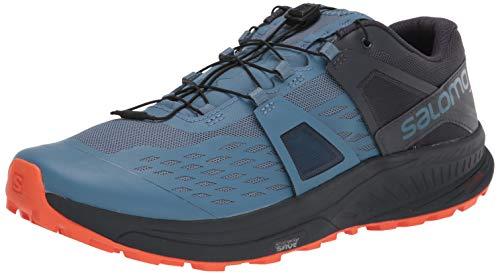 SALOMON Ultra/Pro, Zapatillas de Trail Running Hombre, Copen Blue/India Ink/Red Orange, 42 EU