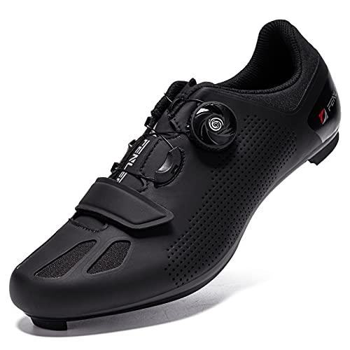 URDAR Zapatillas Bicicleta Carretera Hombre Calzado Transpirable Zapatillas de Ciclismo Cómodo...*