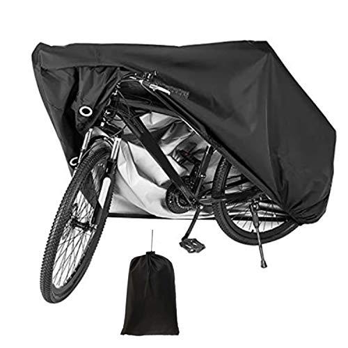 Funda para Bicicleta, Cubierta de Bicicleta Al Aire Libre Impermeable de Tela Oxford 210D, Resistencia A la AbrasióN Y Al Desgarro, Funda Bicicleta Plegable con Bolsa de Almacenamiento