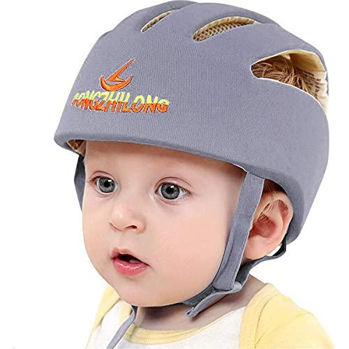 IULONEE Casco de protección para bebé, gorra protectora para cabeza de bebé, gorra de algodón...*