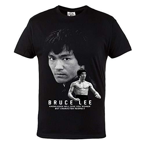 Rule Out Camiseta Prenda De Lucha BRUCE LEE. kárate. entrenamiento. Gimnasio ropa deportiva. MMA...*