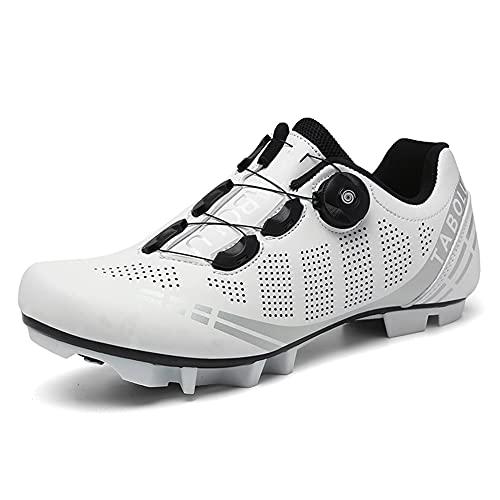 Zapatillas de Bicicleta de Montaña Antideslizantes para Hombre Mujer Zapatillas de Ciclismo MTB...*
