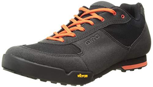 Giro Rumble Vr Mtb Zapatos de Bicicleta de montaña Hombre, Multicolor (Black/Glowing Red 000), 44 EU (9.5 UK)