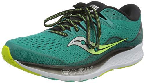 Saucony Ride ISO 2, Zapatillas de Running Hombre, Verde Verde 37, 44 EU*