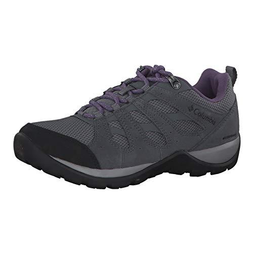 Columbia Redmond V2, Zapatillas de Senderismo Impermeables Mujer, Gris, Morado (Ti Grey Steel, Plum...*
