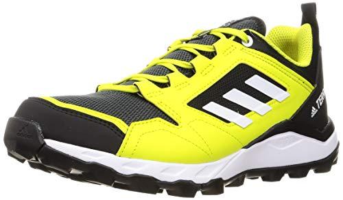 adidas Terrex Agravic TR, Zapatillas de Trail Running Hombre, AMAACI/FTWBLA/NEGBÁS, 44 EU*