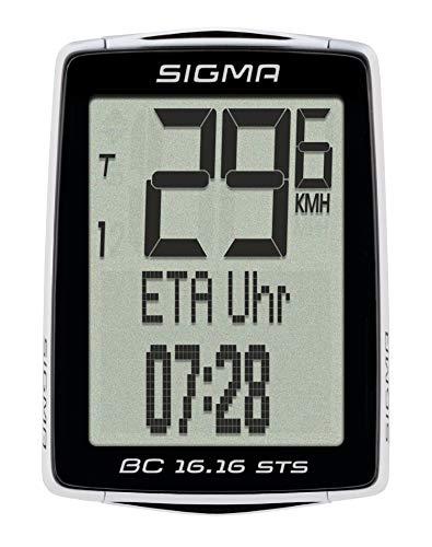 Sigma 01616 Ciclocomputador, Negro