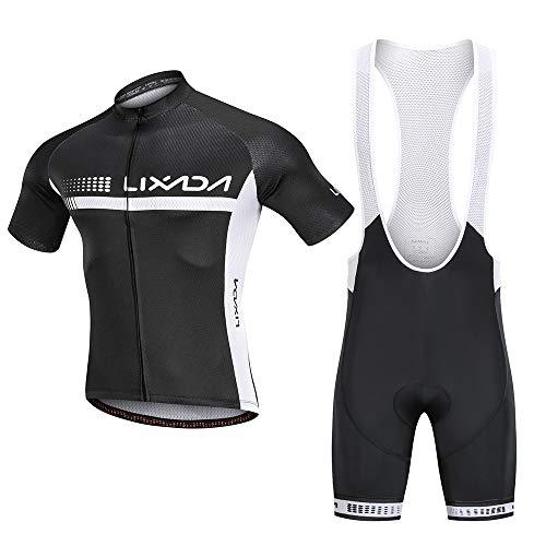 Lixada Traje Ciclismo Hombre, Ropa Ciclismo Hombre, Culote Bicicleta Hombre,Equipacion Ciclismo...*