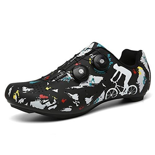 Zapatillas de Ciclismo para Hombres Mujer Zapatillas Ciclismo Carretera Zapatillas de Bicicleta de...*