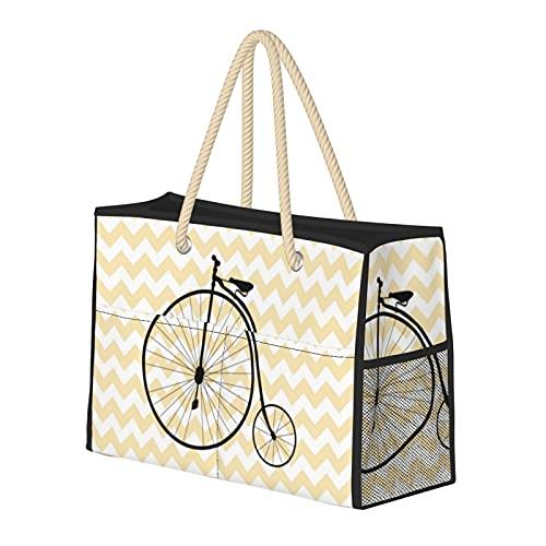 Bolsa de playa grande y bolsa de viaje para mujer – Bolsa de piscina con asas, bolsa de semana y...*