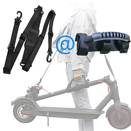 CinturóN Para Scooter EléCtrico + Correa De Mano Para Scooter, Correa De Hombro Para Xiaomi Mijia M365 / Pro Scooter, Adecuado Para Muchos Tipos De Scooters EléCtricos, Bicicletas, Tapetes De Yoga.