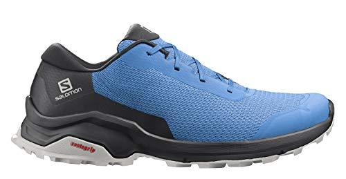 Salomon X Reveal GTX Zapatillas De Sanderismo Y Caminar Impermeables De Mujer, Azul (Marina/Black/Lunar Rock), 40 EU