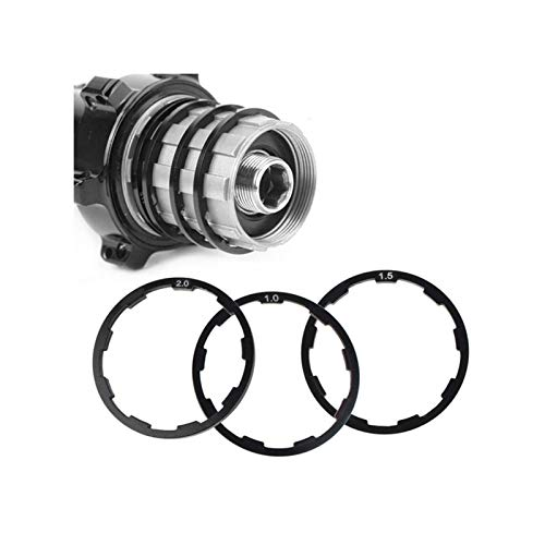 Accesorios de bicicleta de aleación Concentradores de bicicletas 3 piezas de 1 mm + 1,5 mm + 2 mm...*