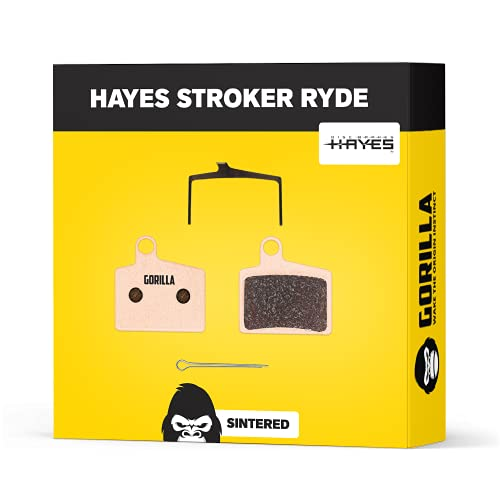 Hayes Pastillas de Freno Stroker RYDE RYDE Comp & Radar para Freno de Disco Bicicleta I Sinterizado...*