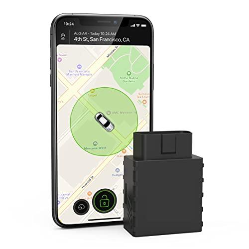 CARLOCK GPS ANTIRROBO – Localizador GPS coche con sistema de alarma – Dispositivo antirrobo coche + app – Rastreador GPS, sigue tu coche en tiempo real y te avisa de situaciones extrañas. OBD Plug&Play