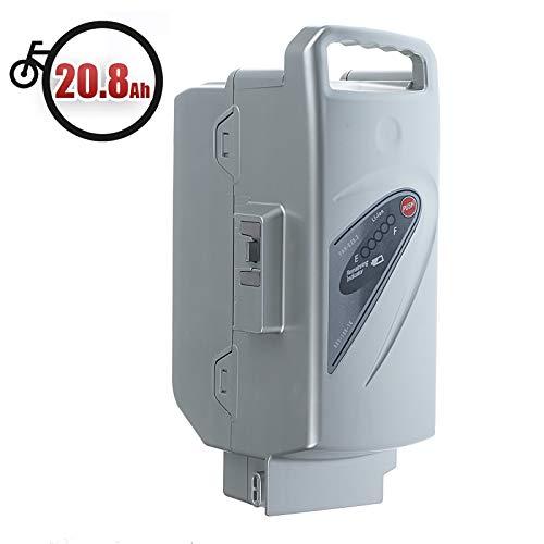 Vinky Batería 20.8Ah (26V) para Bicicleta Eléctrica Kalkhoff, Flyer, Raleight & Rixe Compatible con Panasonic Flyer, Batería de Litio de Reemplazo Li-Ion para Bicicletas Eléctricas