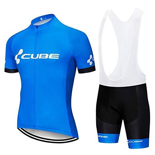 MTBHW Equipacion Ciclismo Hombre Ropa Ciclista y Pantalones Cortos Conjunto Ciclismo Verano*
