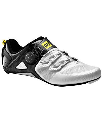 Mavic Cosmic Ultimate - Zapatillas de carretera - blanco/negro Talla 44 2/3 2015