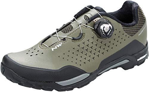 NORTHWAVE Sapatos MTB NW X-Trail Plus FRT, Zapatillas Unisex Adulto, Verde, 40 EU