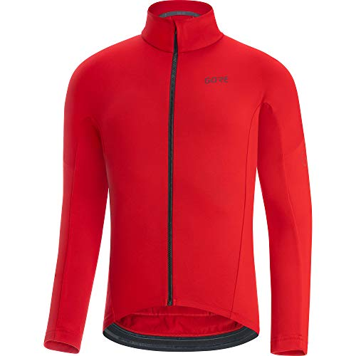 GORE WEAR Maillot térmico de ciclismo para hombre, C3, XL, Rojo